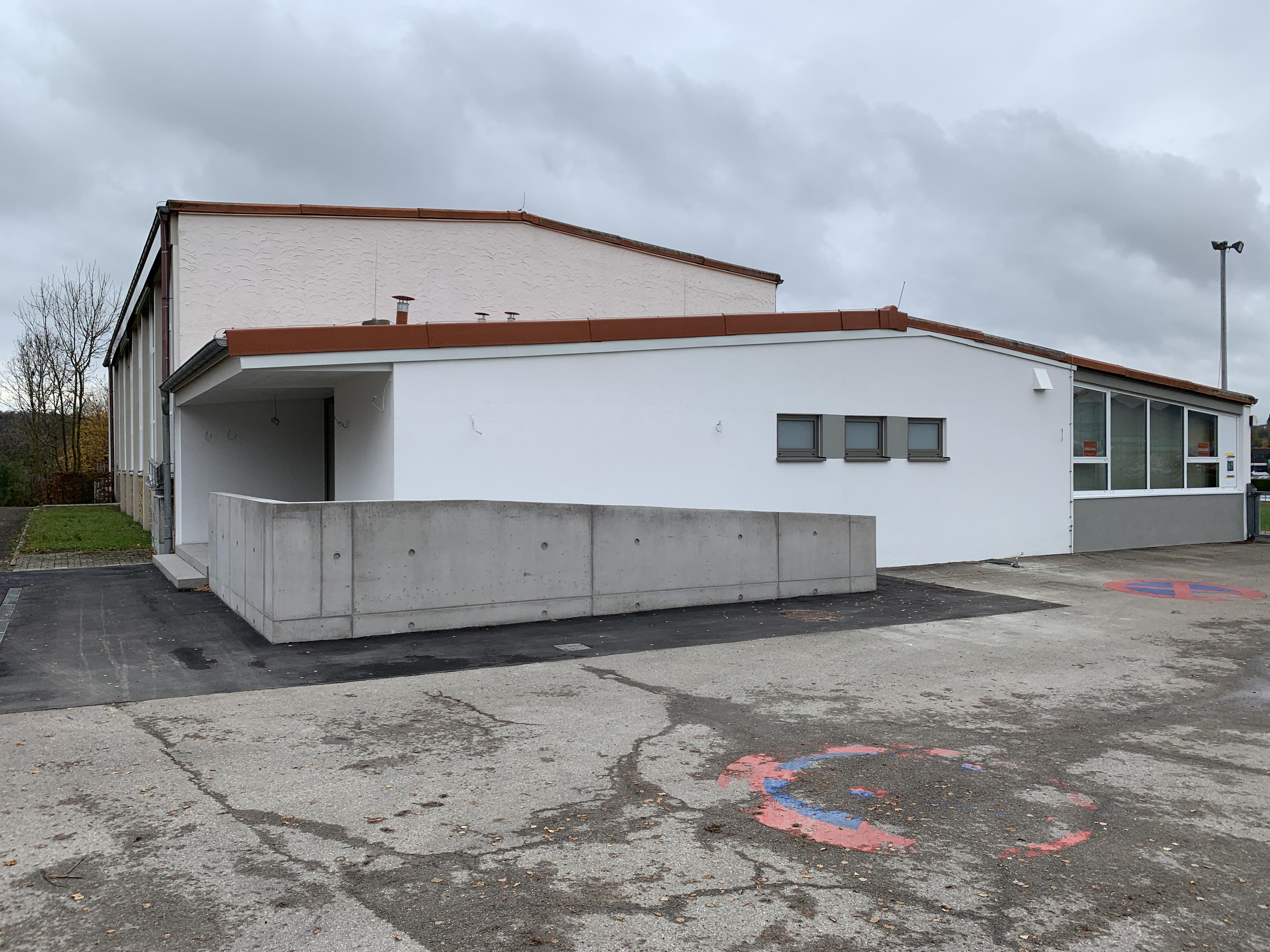 Sanitäranbau Mehrzweckhalle Endingen